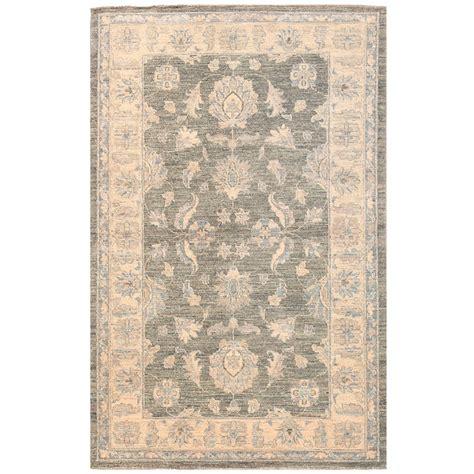 vegetable dye rugs afghan knotted vegetable dye oushak wool rug 3 1 x 4