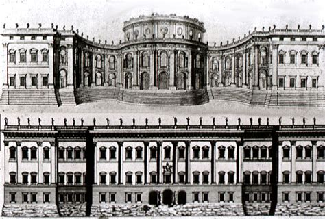 bernini s design for the louvre paris floor plans baroque in italy