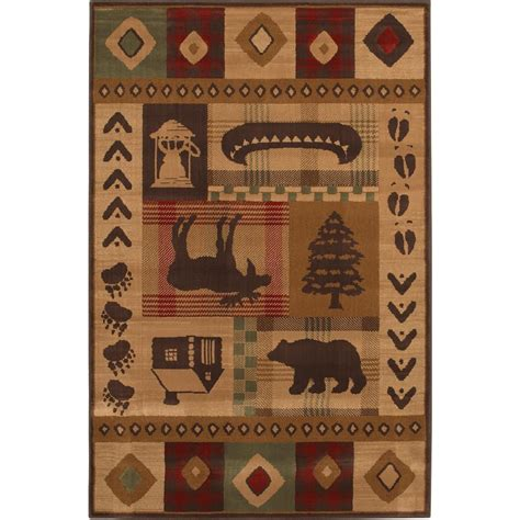 woolrich rug woolrich westland 5 3 quot x7 10 quot rug 152250 rugs at sportsman s guide