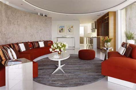 Circular Living Room Design by Circular Living Room Design