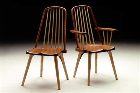 delightful Modern Dining Table Design #5: contemporary-windsor-variation-chairs-by-becker.jpg