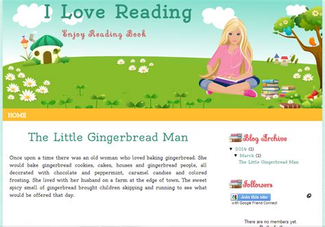 i love books cute blog template ipietoon cute blog design