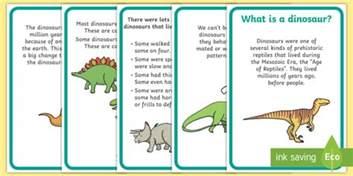 Simple Halloween Craft - dinosaur fact display posters dinosaur dinosaur facts