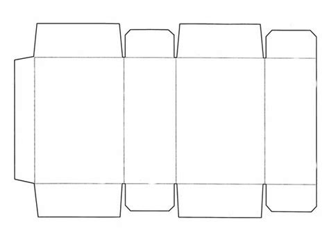 How To Make A 3d Rectangle Out Of Paper - 3d rectangle template printable templatezet