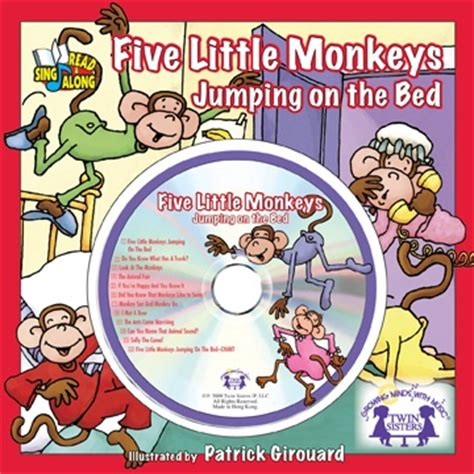 five little monkeys jumping on the bed song 1000 images about read and sing along books on pinterest