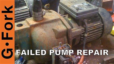 well water pump repair gardenfork tv youtube