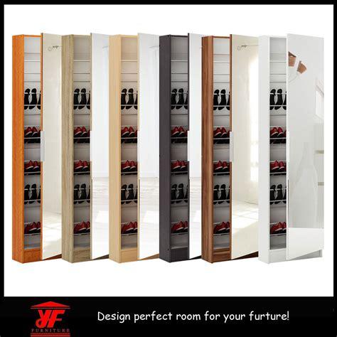 large shoe cabinet with doors ventilation corner sliding door large wooden shoe cabinet