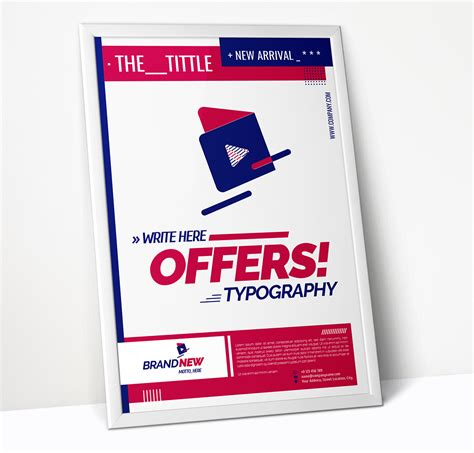 promotional poster template