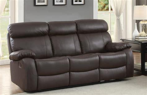 homelegance double reclining sofa homelegance pendu double reclining sofa top grain