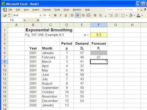 exponential moving average formula in excel i lost money
