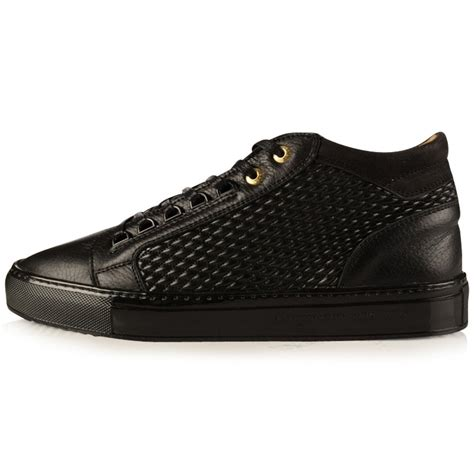 Android Homme by Android Homme Android Homme Black Propulsion Mid Trainers