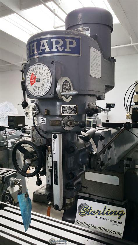 sharp cnc vertical milling machine sterling machinery