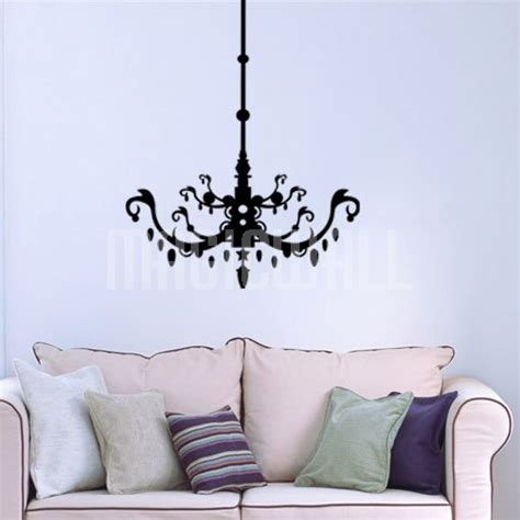 Chandelier Decal Wall Decals Canada Wall Stickers Ornate Chandelier