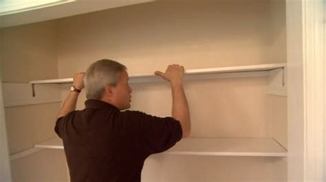 how to install closet shelving today s homeowner