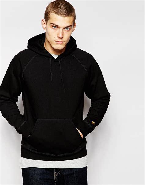 carhartt hoodie in black for lyst