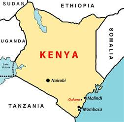 map of kenya kenya the of eastafrica