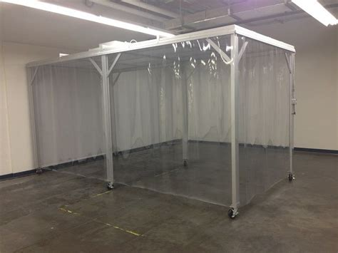 modular clean room softwall cleanroom solutions curtain dividers