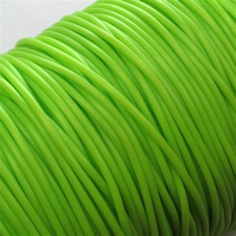 rubber sting projects rubber string hollow buna cord 2 mm lime nemravka cz