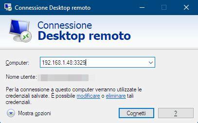 porta desktop remoto windows 7 come modificare la porta in ascolto di connessione desktop