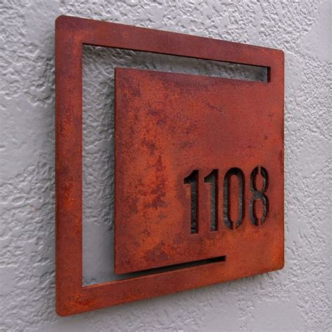 7 best house number sign images on house