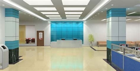 Office Of The Of The Interior by Blue For Office Interior Decoration