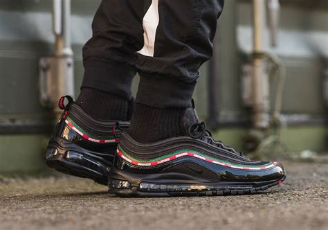 Undftd X Nike Air Max 97 Black undefeated nike air max 97 release date black and white colorways sneakernews