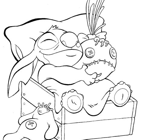 Free Printable Lilo And Stitch Coloring Pages For Kids Colouring Pages Free