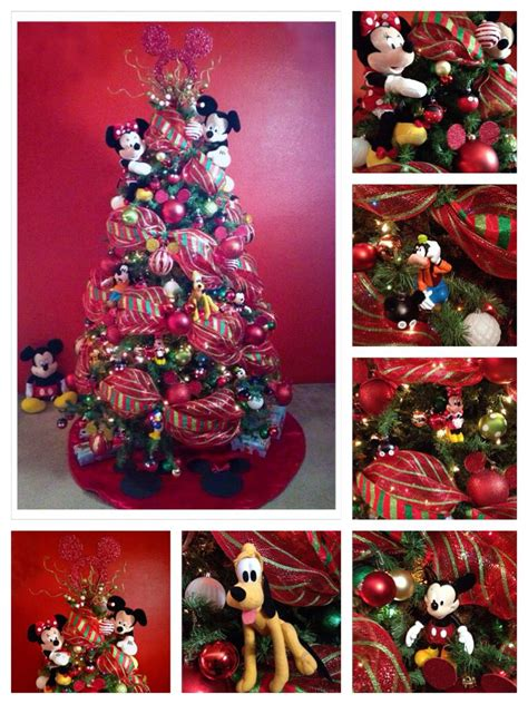 my christmas tree decoration 2013 theme mickey mouse