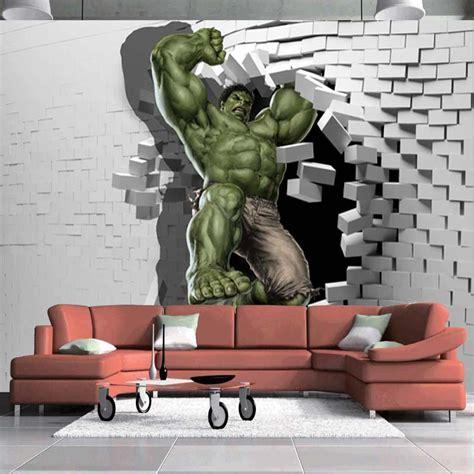 Home Design Decor App Reviews 3d Avengers Photo Wallpaper Custom Hulk Wallpaper Unique