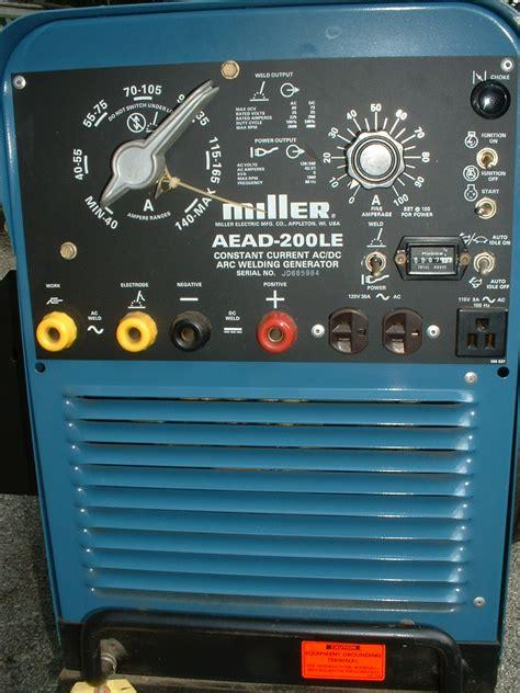 miller aead 200le faceplate wiring diagrams repair