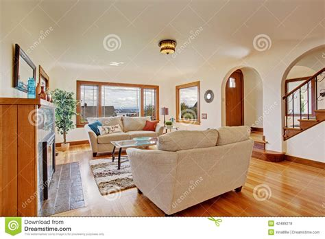 bright living room furniture bright living room in light ivory tones stock photo image 42489278