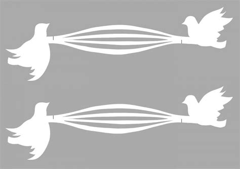 Turtle Dove Template by How To Make Turtle Dove Napkin Rings Delicious Magazine