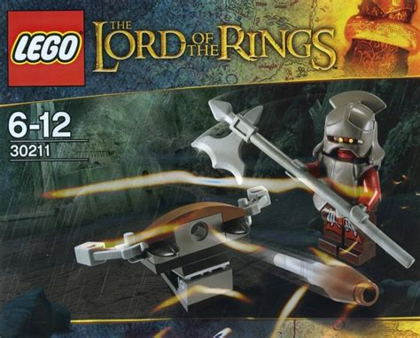 Lego Lord Of The Rings Lotr Hobbit 30211 Uruk Hai Orc With Ballist the lord of the rings brickset lego set guide and database