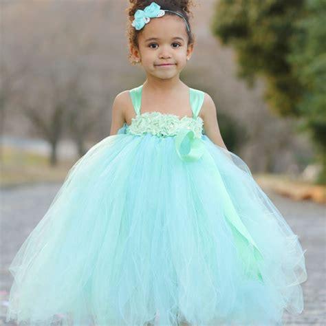 baby headbands easter headbandbaby headband baby flower princess mint green flower tutu dress with