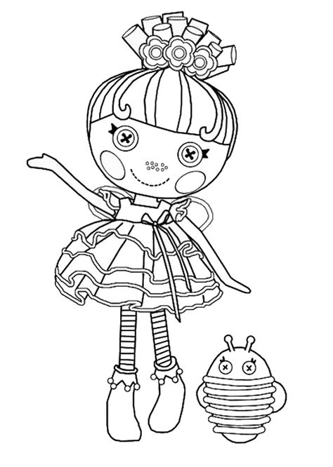 Lalaloopsy Coloring Pages Colouring Pages 25 Free Lalaloopsy Colouring Pages