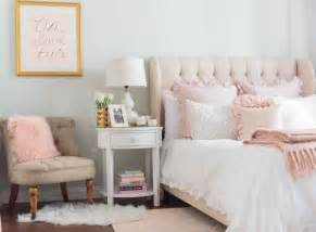 best ideas about pink gold bedroom and light grey
