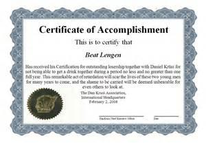 certificate of accomplishment template dankrusi certificate of accomplishment