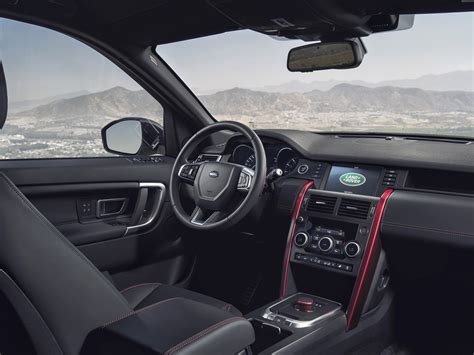 land rover discovery sport interior 2015 land rover discovery sport review