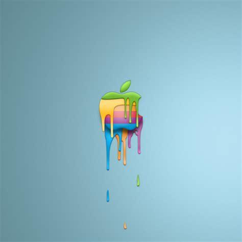 colored apple colored apple logo wallpaper free retina hd