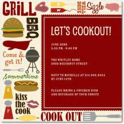 Cookout Invitation Template by 301 Moved Permanently