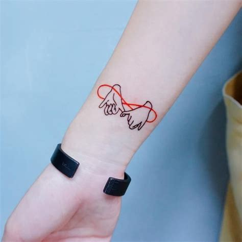 henna tattoo hong kong promise 勾手指尾刺青紋身貼紙 bbf finger temporary