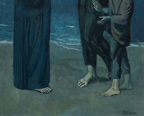 picasso paintings the tragedy true blue for