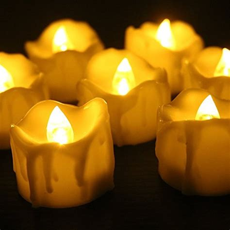 Look That Candles On by Electric Candles Flickering Led Tea Light Candles
