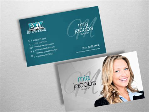 Exit Realty Business Cards Exr222 Exit Realty Business Cards Template