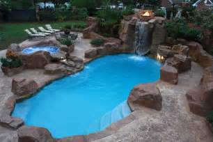Pools In Backyards Swimming Pool Ruston Bossier Shreveport Dolphin Pools Wins Pool Construction Award
