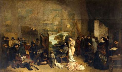 Courbet Sleepers by The Artist S Studio 1855