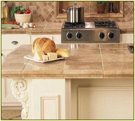 kitchen tile countertops best 25 tile kitchen countertops ideas on