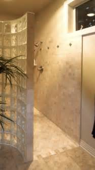 walk in no door shower bathroom ideas