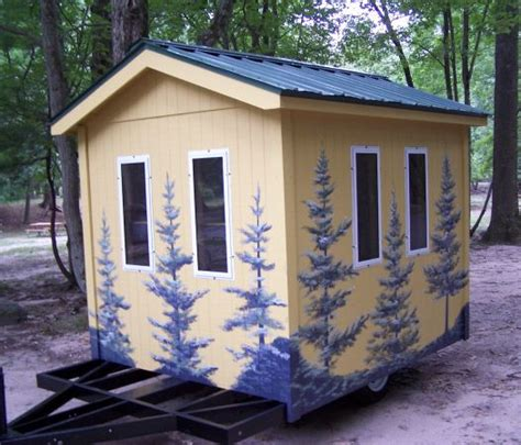 Bunk House For Sale by Tiny Bunk House A Stick Built Travel Trailer For Sale