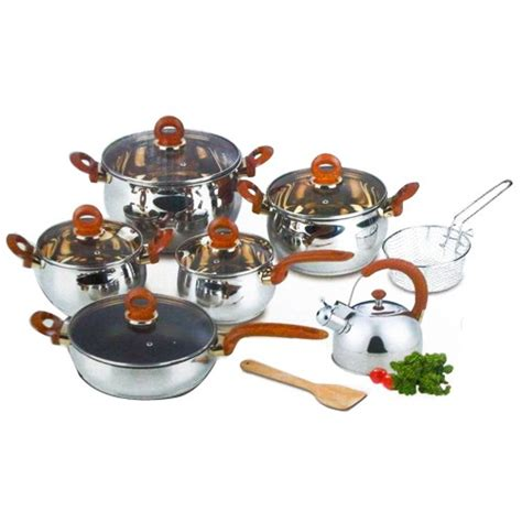 Wok Pan Oxone ox 966 classic cookware set oxone 12 2 pcs perabotan